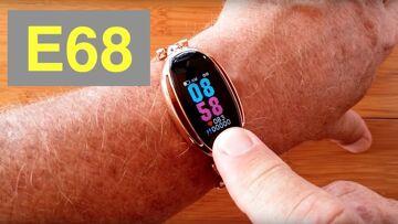 CYUC E68 Women's IP67 Waterproof Blood Pressure Diamond Smart Bracelet: Unboxing and 1st Look