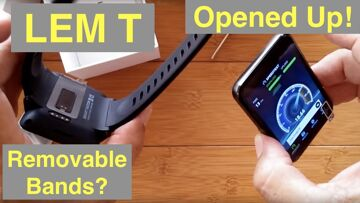 Opening it up! LEMFO LEM T Extra Large Android 7.1.1 Smartwatch: Are the Bands Actually Removable?