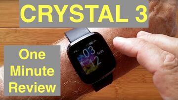 ZEBLAZE CRYSTAL 3 Inexpensive IP67 Waterproof Sports/Fitness Smartwatch: One Minute Review