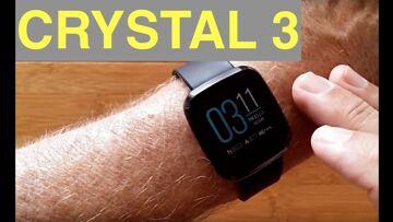 ZEBLAZE CRYSTAL 3 Inexpensive IP67 Waterproof Sports/Fitness Smartwatch: Unboxing and 1st Look
