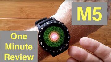 Anmino M5 GPS, Blood Pressure, Breath Training IP67 Waterproof Smartwatch: One Minute Overview