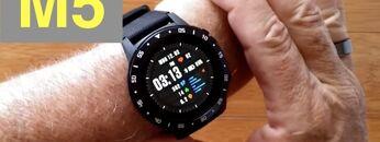Anmino M5 GPS, Blood Pressure, Breath Training IP67 Waterproof Smartwatch: Unboxing and 1st Look
