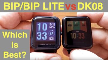 AMAZFIT BIP/BIP LITE vs. KOSPET DK08: Which is Best for the Price?