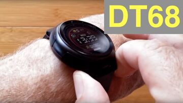 DTNo.1 DT68 IP68 Waterproof Full Touch Screen Health Fitness Smartwatch: Unboxing and 1st Look