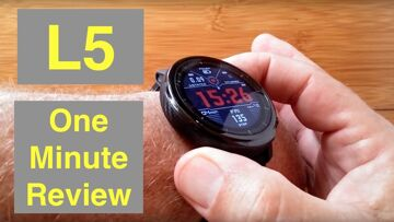 Microwear (Bakeey) L5 IP68 Waterproof Smartwatch with White LED Flashlight: One Minute Overview