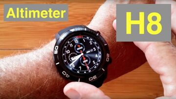 MICROWEAR H8 4G Android 7.1.1 IP68 Waterproof Altimeter, Always Time Smartwatch: Unboxing & 1st Look