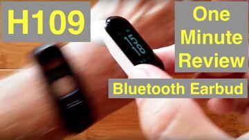 BILIKAY H109 Combo Smart Bracelet / Earphone, Blood Pressure, Fitness Tracker: One Minute Overview