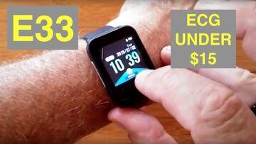 "BAKEEY E33 Featured ""Apple Watch Sized"" ECG IP67 Waterproof Smartwatch for $15: Unboxing & 1st Look"