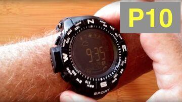 iOutdoor P10 Rugged IP68 5ATM Waterproof Smartwatch: Unboxing and 1st Look