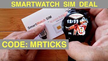 """SpeedTalkMobile.com for Android Smartwatch SIM Calls/Data: Code """"MRTICKS"""" for Free SIM Shipping"""