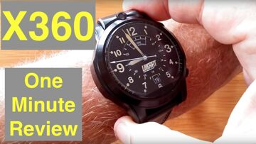 LOKMAT X360 Dual 4G Smartwatch is Thor 4 Dual + Thor Pro 1.6″ Screen: One Minute Overview