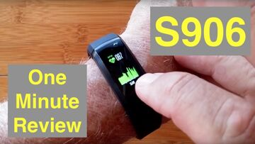 S906 GPS Tracking IP68 Waterproof Sports Smart Bracelet Smartwatch for $30: One Minute Overview