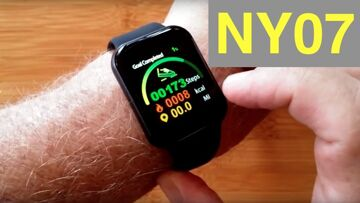 RUNDOING NY07 Large Display IP67 Waterproof Blood Pressure Fitness Smartwatch: Unboxing and 1st Look