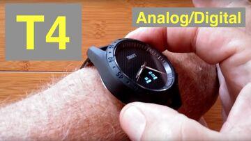 Toleda T4 Hybrid Analog/Digital 5ATM Waterproof Blood Pressure Dress Smartwatch: Unboxing & 1st Look