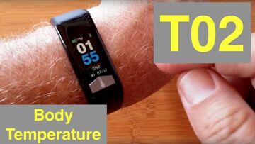 BAKEEY T02 Body Temperature IP68 Waterproof Multi-Sport Weather Smart Bracelet: Unboxing & 1st Look