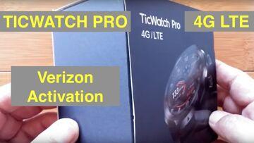Mobvoi TicWatch Pro 4G LTE WearOS Smartwatch: Quick Guide to Verizon Activation