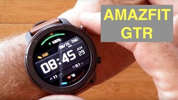 XIAOMI AMAZFIT GTR Smartwatch (vs VERGE & VERGE LITE): Unboxing and 1st Look