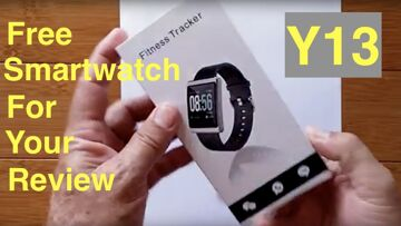 MAXTOP  Y13 Smartwatch Giveaway for Aspiring Smartwatch Reviewers!