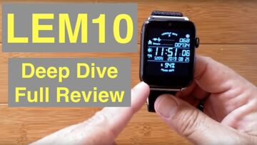 LEMFO LEM10 4G Android 7.1.1 IP67 Waterproof Square Front Camera Smartwatch: Deep Dive Full Review