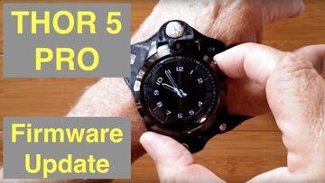 ZEBLAZE THOR 5 PRO Face Unlock Removable Bands AlwaysOn Display Smartwatch: 20191213 Firmware Update