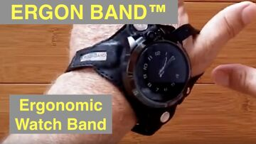 ERGON BAND™: The First ERGONOMIC Revolutionary Watch Band you Wear on your Wrist