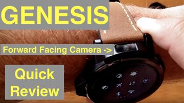 KronosBlade GENESIS Dual Camera Outdoor Visible Screen 4G Android 7 Smartwatch: Quick Overview