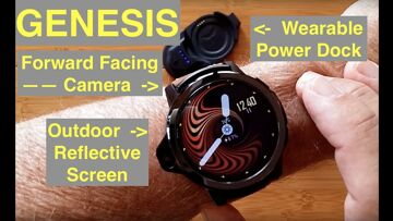 KronosBlade GENESIS Dual Camera Outdoor Visible Screen 4G Android 7 Smartwatch: Unboxing & 1st Look