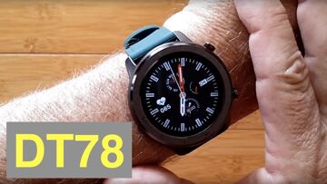DTNo.1 DT78 IP68 Waterproof Full Touch Blood Pressure Health Fitness Smartwatch: Unboxing & 1st Look