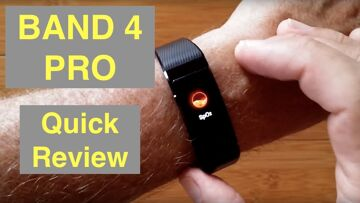 HUAWEI BAND 4 PRO Bright COLOR AMOLED Screen GPS IP68 Waterproof Fitness Band: Quick Overview