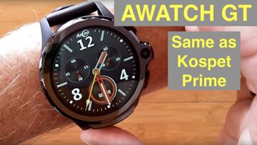 AllCall AWATCH GT 4G Android 7.1.1 Dual Camera IP67 3GB/32GB Waterproof Smartwatch: Unbox & 1st Look