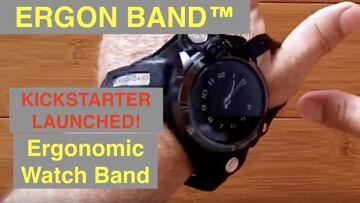 ERGON BAND™ KICKSTARTER LAUNCH: The First ERGONOMIC Watch Band you Wear around your Thumb
