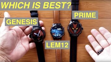 Kronos Blade GENESIS. LEMFO LEM12, and Kospet PRIME (aka AllCall AWATCH GT) Compared: Which is Best?