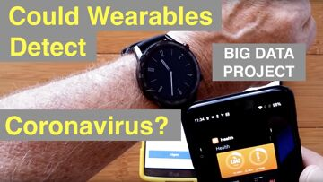 Could wearables like Apple Watch, Fitbit fitness trackers help detect coronavirus? New Studies!