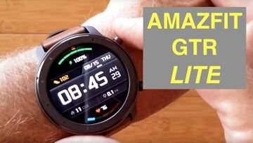 XIAOMI AMAZFIT GTR Lite 5ATM Waterproof Sports Fitness Smartwatch: Unboxing and 1st Look