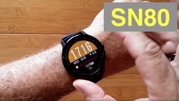 BAKEEY SN80 15 Day Use / 60 Day Standby IP68 Waterproof Sports Smartwatch: Unboxing and 1st Look