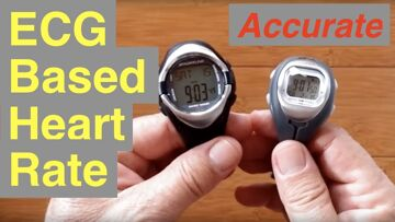 Inexpensive Accurate Heart Rate Smartwatches uses ECG for Fast Response Time (Three videos in ONE)!