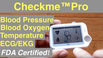 Wellue Checkme™Pro ECG, SpO2, Temperature, Blood Pressure Medical Grade Device: Unboxing & 1st Look