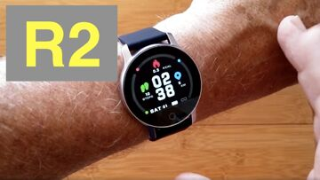 XANES R2 Prototype (without ECG+PPG) IP67 Waterproof Sports Smartwatch: Unboxing and 1st Look
