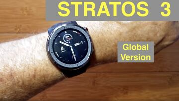 XIAOMI AMAZFIT STRATOS 3 5ATM Sports Fitness Smartwatch: Unboxing and 1st Look [Global Version]