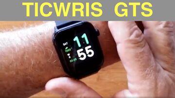 TICWRIS GTS IP68 Waterproof Sports Fitness Smartwatch with Body Temperature Alarm: Unbox & 1st Look