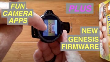 FUN Camera Apps for ALL Android Smartwatches PLUS New GENESIS Firmware Revealed (YES its shipping!)
