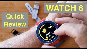 LEMONDA WATCH 6 IP67 Waterproof DIY Changeable Straps/Bezels Sports Smartwatch: Quick Overview