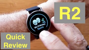XANES R2 Prototype (without ECG+PPG) IP67 Waterproof Sports Smartwatch: Quick Overview