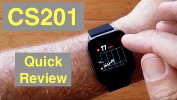 ELIRIN CS201 5ATM Waterproof Swimmer's Health Fitness Smartwatch: Quick Overview