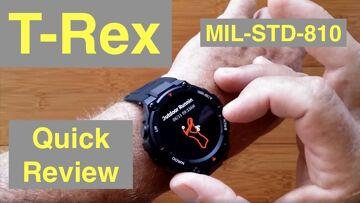 XIAOMI AMAZFIT T-Rex 5ATM Waterproof Rugged (MIL-STD-810) Sports Fitness Smartwatch: Quick Overview