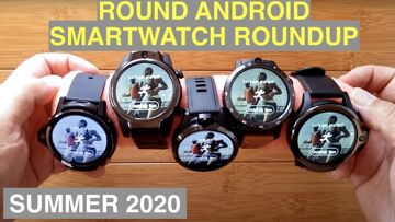 Summer 2020 Top Flagship Android Smartwatches Compared: Genesis, LEM12, Prime, S08, Thor 5 Pro