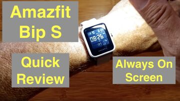 XIAOMI AMAZFIT BIP S (Updated BIP) 5ATM Waterproof Sports Fitness Smartwatch: Quick Overview