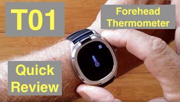 Bakeey T01 Forehead Temperature IP67 Waterproof Blood Pressure Health Smartwatch: Quick Overview