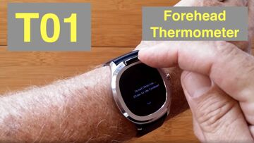 Bakeey T01 Forehead Temperature IP67 Waterproof Health Smartwatch: Unboxing and 1st Look