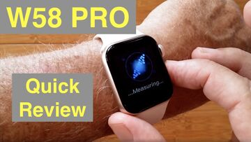"""W58 PRO Temperature & Immune Monitoring """"Always On"""" Display Health Bracelet: Quick Overview"""